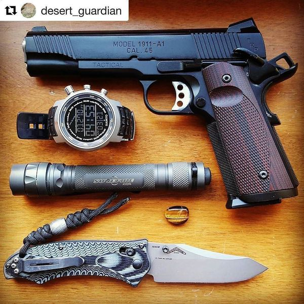 Benchmade - #Repost desert_guardian with repostapp ・・・ Don't let anyone fool you into capacity envy...find what works for you, and master it. My TRP is an extension of...