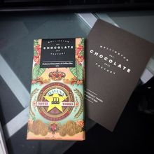 COFFEEUFEEL - Nice little Tuesday treat -free chocolate bar from #wellingtonchocolatefactory arrived in the post! Chocolate and #havanacoffeeworks...two of my favourite...